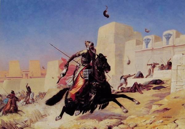 Le Roi Cambyse au Siege de Peluse